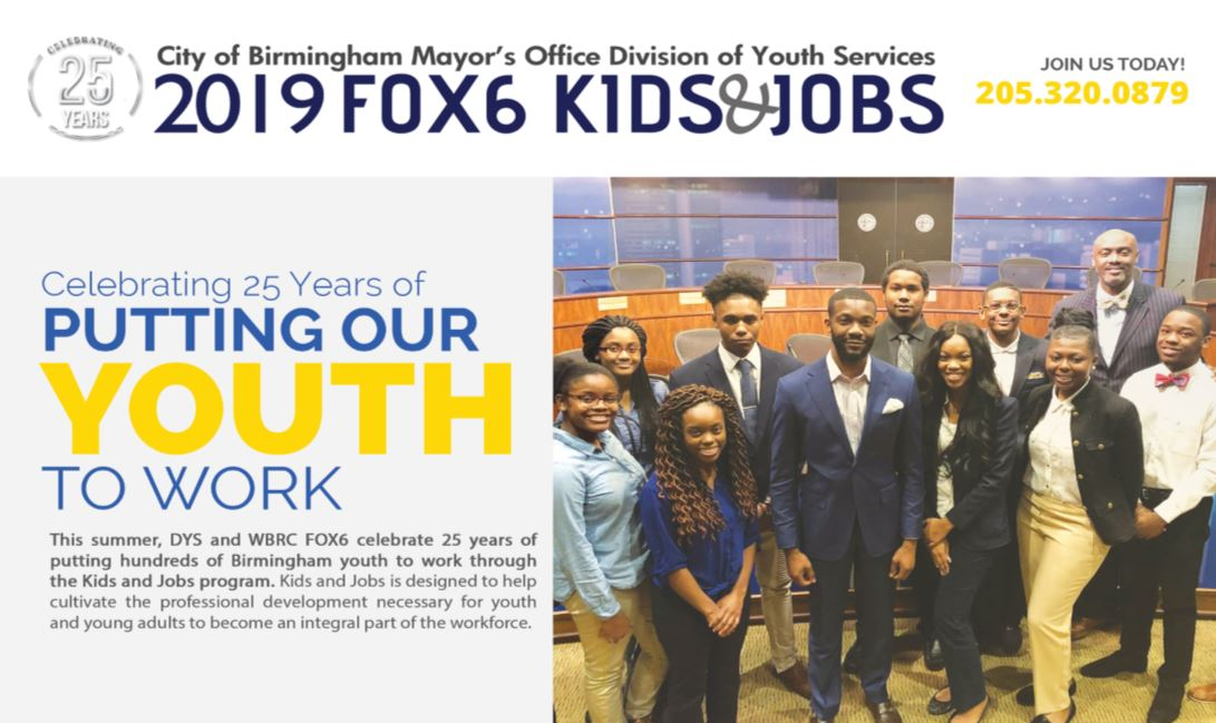 Kids and Jobs 2019 | Birmingham Youth First